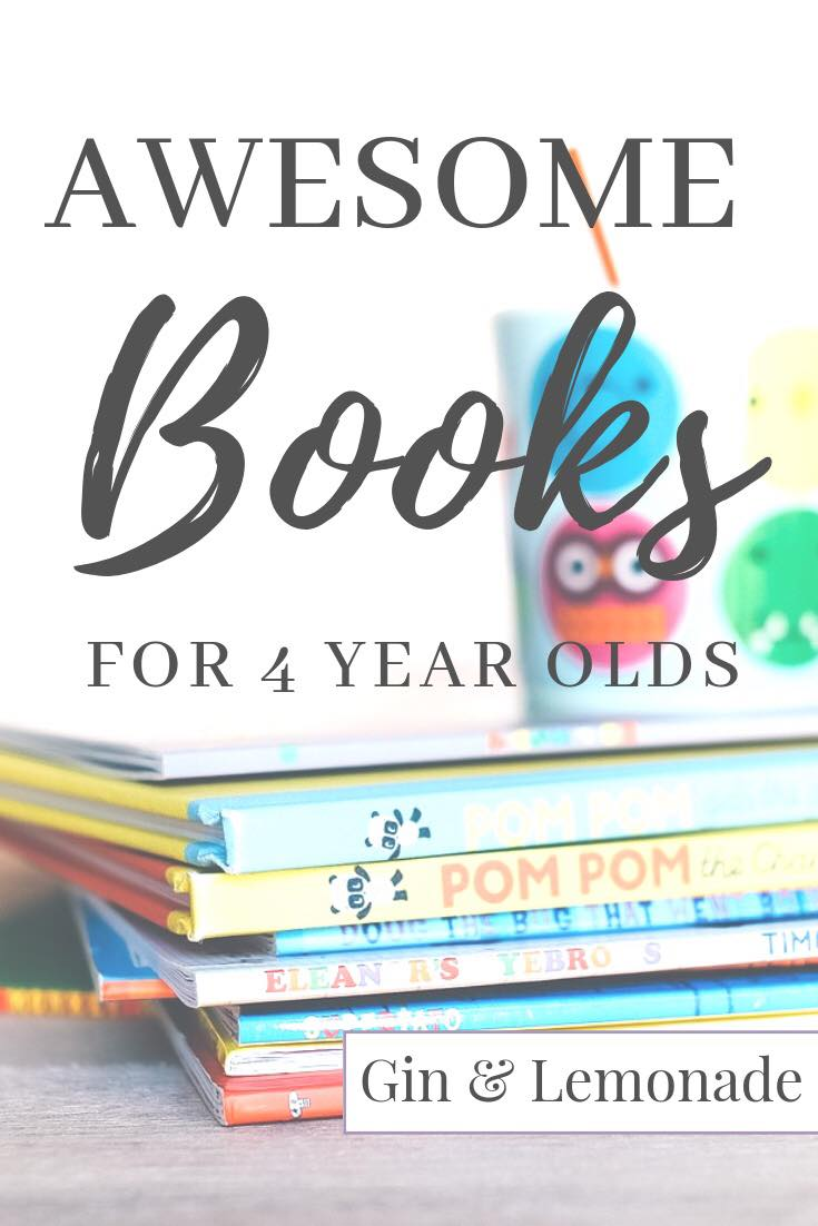 Awesome Books for 4 Year Olds